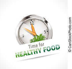 Stopwatch - Time for healthy food