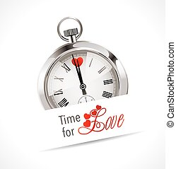 Stopwatch - time for love - loving
