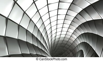 spiro steel mesh - Hi tech abstract background