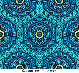 seamless pattern ornamental - Abstract Tribal vintage ethnic...