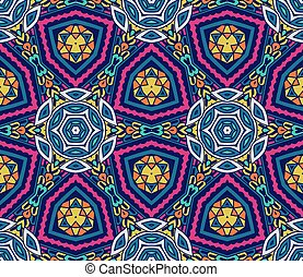 Abstract geometric mosaic seamless pattern - Abstract...