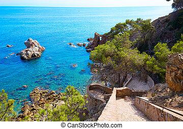 Cami de Ronda track Lloret de Mar of Costa Brava - Cami de...