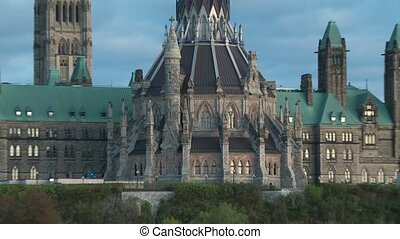 Parliament of Canada 2 - Zoom out - Parliament of Canada in...