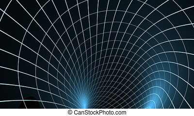 spiro wire - Background with blue grid