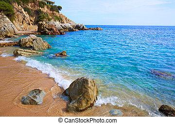 Costa Brava Lloret de Mar beach Camins de Ronda - Costa...