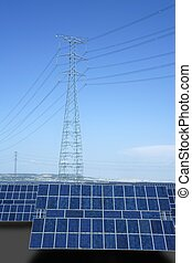 Clean electric energy solar plates generators