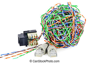 Ball from a twisted pair and connectors