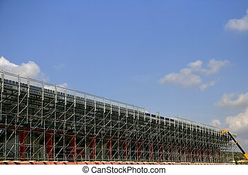 Detachable scaffolding  steel for competition