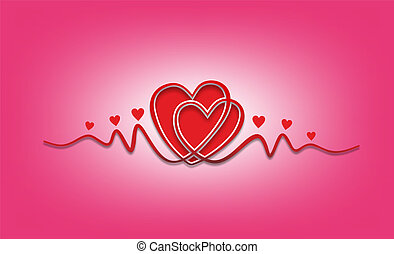 heart with embellishments