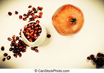 vintage pomegrante