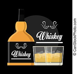 Whiskey concept design - Whiskey concept with bottle design,...