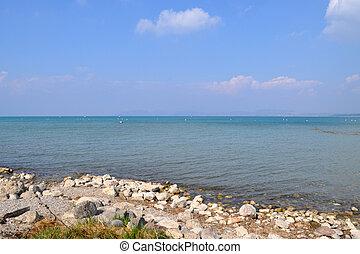 Lake Garda, Lombardy, Italy - Lake Garda, in Italian: Lago...