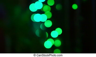 Christmas and new year blur light