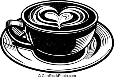 Chai Latte Vector - Vector illustration of a Chai Latte......