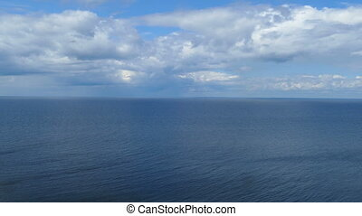 Onega lake in Karelia, Russia
