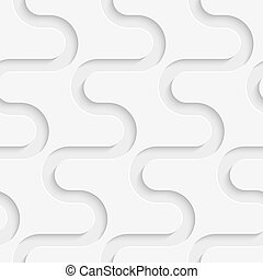 Seamless Wave Pattern - Vector Abstract Seamless Wave...