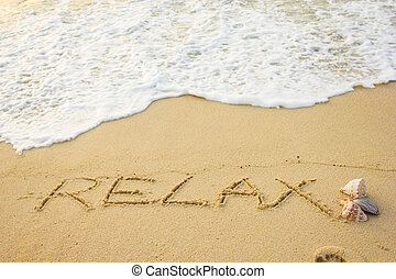 Relax word