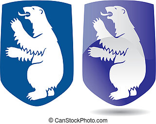 coat of arms of Greenland - vectorial image ofcoat of arms...