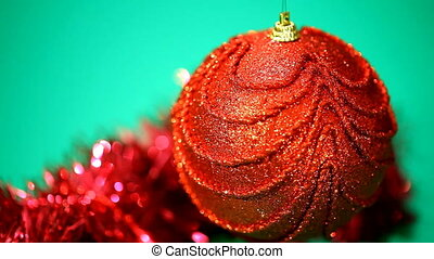 Red Christmas Toy rotates