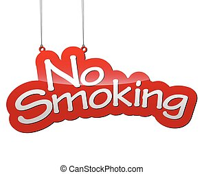 red tag vector background no smoking - THis is red tag...