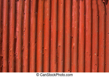 Zinc background ,red abstract in Penang
