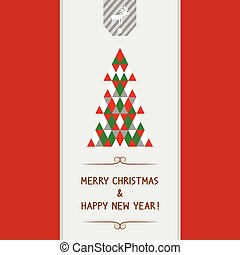 MC and HNY card1 - Merry Christmas and happy new year card...