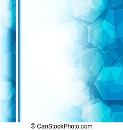 abstract cover blue background