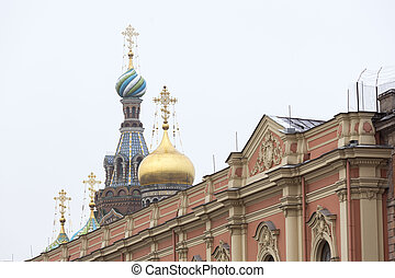 Church of Savior on the Spilled Blood - The Church of the...
