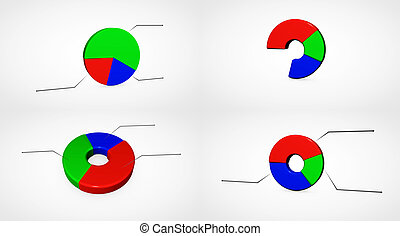 Business Growth Chart - Business growth Chart bars on a...