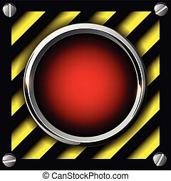 Alarm button background - Red alarm button background,...