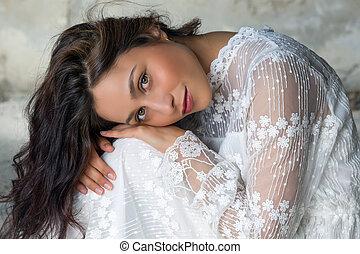 Eyes of a bride
