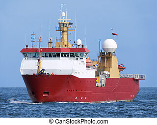 Antarctic Vessel A2 - Polar Antarctic expeditionary vessel...