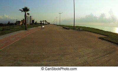 Batumi Boulevard evening - Evening Boulevard on Batumi...