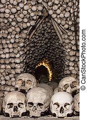 Skulls and Bones in Kutna Hora