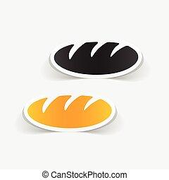 realistic design element: bread