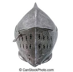 Isolated Warriors Helmet - Warrier's Armour Helmet On A...