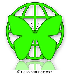 Green Protection - Butterfly and Globe Green Protection...