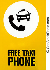 Free taxi phone