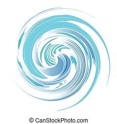 Vortex background blue vector - Vortex background...