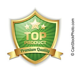 Top product shield