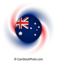 Australian background