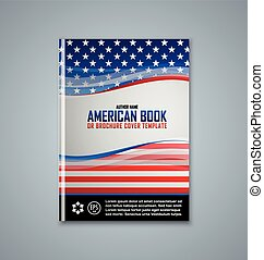 Brochure cover template - Brochure or book cover template on...