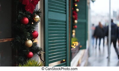 christmas street decor