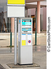 Parking Ticket Payment Machine - Automated Parking Ticket...