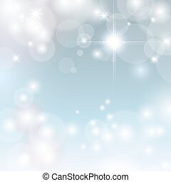 Beautiful blue background with star
