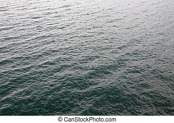 Sea Surface - Water Surface of Adriatic Sea in Kvarner Bay...