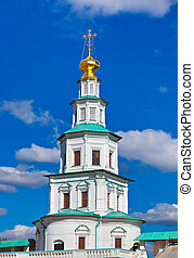 Tower in New Jerusalem monastery - Istra Russia - Famous New...