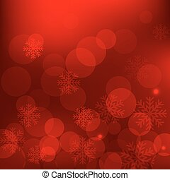 Christmas red background - Christmas and New Year holidays...