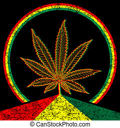 Cannabis-Marijuana-background - Illustration of marijuana...
