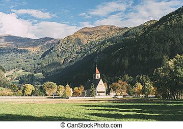 Landscape near Vipiteno - Sterzing